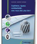 plaquette entreprise injection plastique